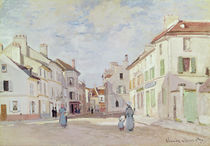 Rue de la Chaussee at Argenteuil by Claude Monet