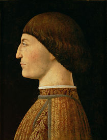 Sigismondo Malatesta by Piero della Francesca