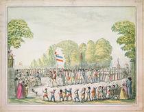 Revolutionary procession, c. 1789 von Etienne Bericourt
