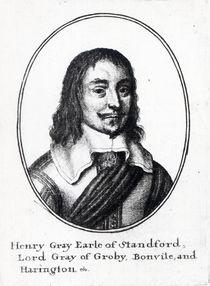 Henry Grey, 1st Earl Stamford by Wenceslaus Hollar