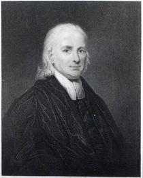 Rev Friedrich Schwartz, engraved by Edward Scriven by English School