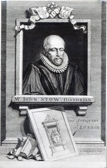 John Stow by George Vertue