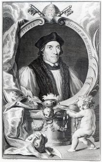 John Fisher, Bishop of Rochester by Hans Holbein the Younger