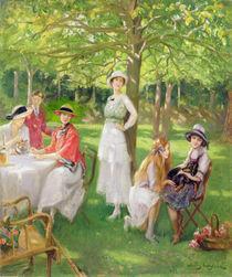 Tea in the Garden von Jules Cayron