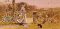 Evening, 1895 by Thomas James Lloyd