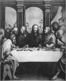 The Last Supper by Hans Holbein the Younger