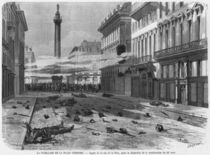 Shooting from the Place Vendome by Michel and Lancon, Auguste Fichot
