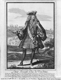 Louis Joseph de Bourbon, Duke of Vendome by Robert Bonnart