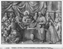 Life of Christ, the Last Supper by Henri Lerambert