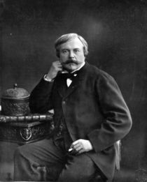 Edmond de Goncourt, from 'Galerie Contemporaine' by Nadar