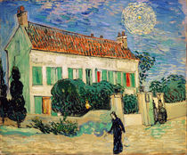 White House at Night, 1890 von Vincent Van Gogh