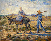 Morning, going out to work von Vincent Van Gogh
