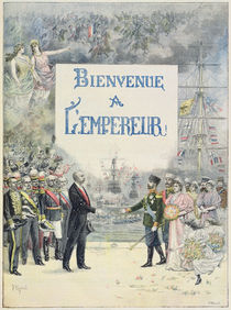 Welcome to the Emperor and Empress of Russia von F. L. & Mejanel, Pierre Meaulle