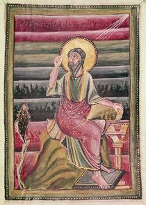 Fol.160r St. John the Evangelist by German School