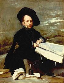 Portrait of the jester Diego de Acedo by Diego Rodriguez de Silva y Velazquez