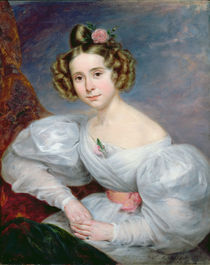 Portrait of a young woman, c.1833-34 von Ludwig August or Louis August Schwiter