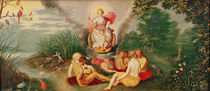 The Triumph of Venus and of Love by Flemish School