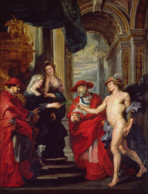 The Medici Cycle: The Treaty of Angouleme 30 April 1619 by Peter Paul Rubens