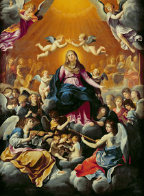 Coronation of the Virgin by Guido Reni