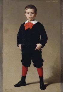 Portrait of Henri Achille, the artist's son, 1881 by Achille Zo