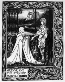 Arthur and the strange mantle von Aubrey Beardsley