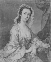 Margaret Woffington, engraved by John Faber Jr von Henry Pickering