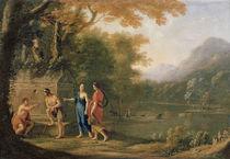 The Arcadian Shepherds von Laurent de La Hyre