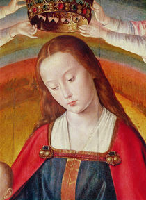 The Virgin Mary with her Crown by Master of Moulins