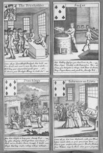 Playing Cards depicting current commercial ventures von English School