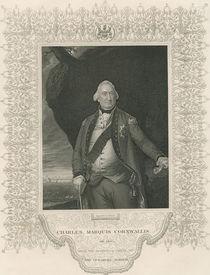 Charles Cornwallis, from 'Gallery of Historical Portraits' von John Singleton Copley