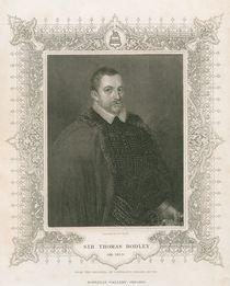 Portrait of Sir Thomas Bodley by Henry Thomas Ryall