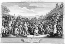 The Idle 'Prentice Executed at Tyburn by William Hogarth