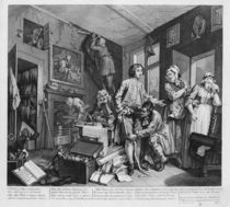 The Young Heir Takes Possession of the Miser's Effects by William Hogarth