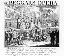 The Beggar's Opera Burlesqued von William Hogarth
