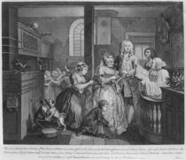 Married to an Old Maid, plate V from 'A Rake's Progress' by William Hogarth