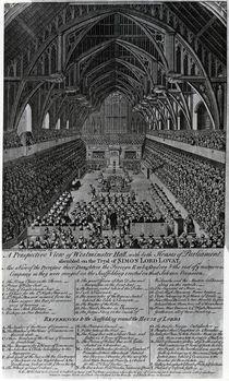 Trial of Simon Fraser, Lord Lovat von English School