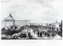 University College School, London, 1835 von George the Elder Scharf