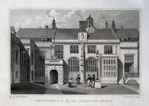 Pensioner's Hall, Charter House by Thomas Hosmer Shepherd