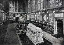 The Albert Memorial Chapel von English Photographer