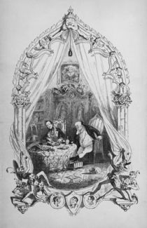 Illustration from `The Pickwick Papers' by Charles Dickens by Hablot Knight Browne