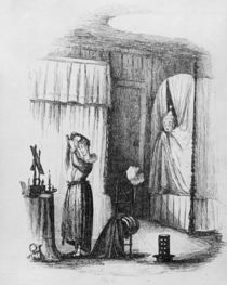 The Middle-Aged Lady in the Double-Bedded Room von Hablot Knight Browne