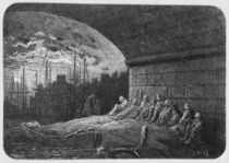 Under the Arches, illustration from 'London von Gustave Dore