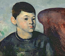 Portrait of the artist's son von Paul Cezanne