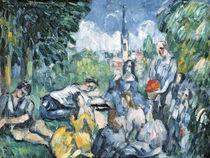 Dejeuner sur l'herbe, 1876-77 by Paul Cezanne