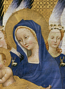 Virgin and Child, c.1395-99 von Master of the Wilton Diptych