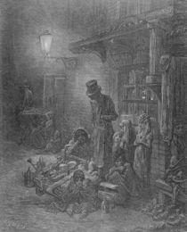 Wentworth Street, Whitechapel von Gustave Dore