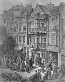 Bishopsgate Street, from 'London by Gustave Dore