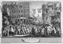The Industrious 'Prentice Lord Mayor of London von William Hogarth