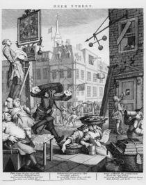 Beer Street, 1751 von William Hogarth