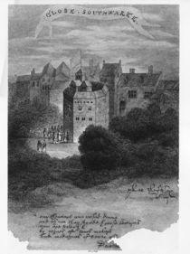 The Globe Theatre, Bankside von English School